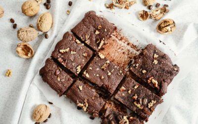 Gluten-Free Chocolate Brownie recipe – vegan & high protein