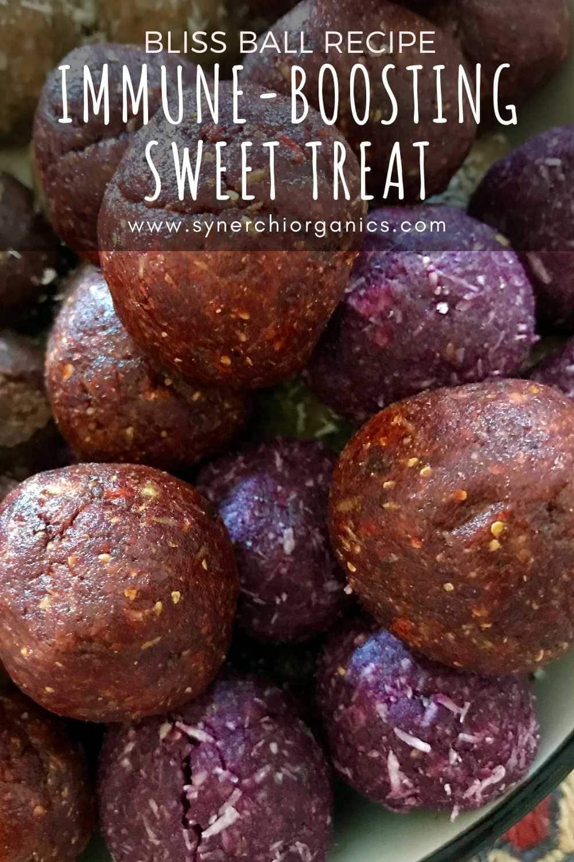 sweet potato powder bliss balls